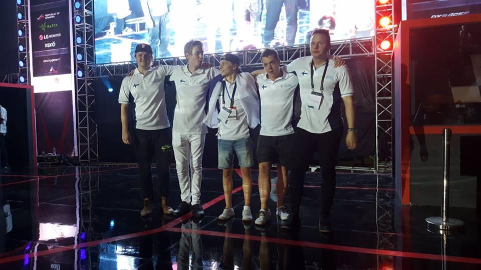 ENCE Esports - Team Finland
