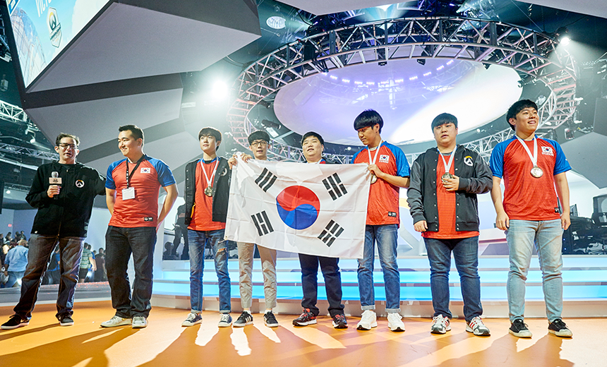 Overwatch World Cup 2016 South Korea