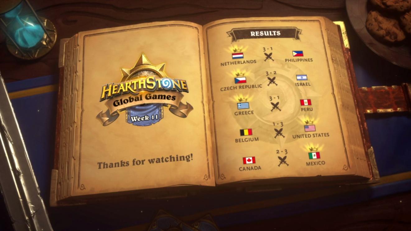 Undicesima settimana degli Hearthstone Global Games g2