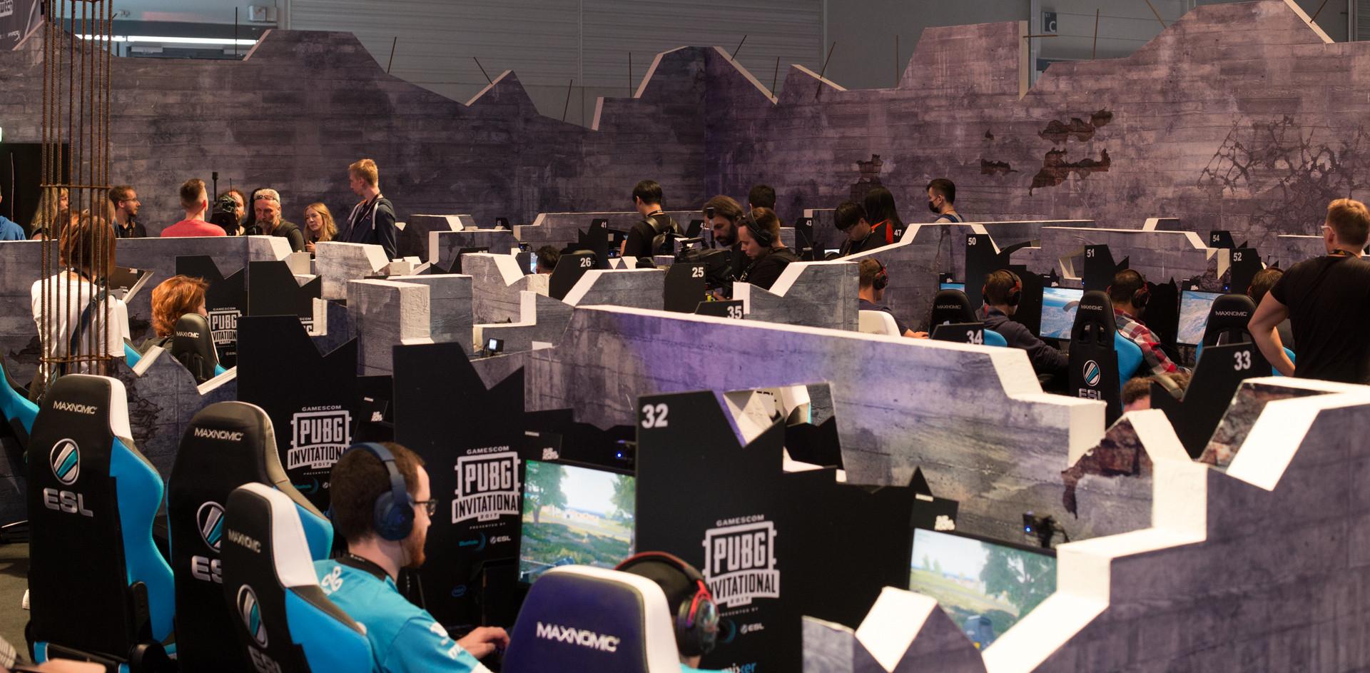 gamescom 2017 pubg