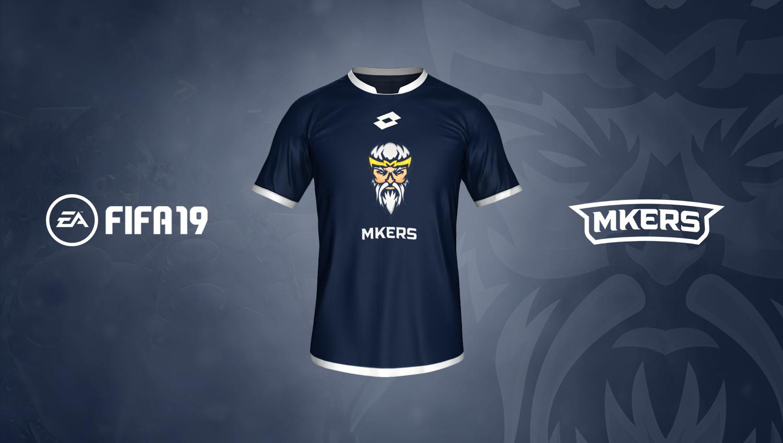 maglia del Team Mkers