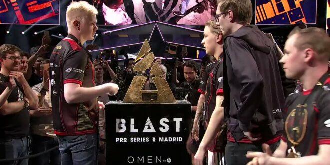 Blast Pro Series Madrid