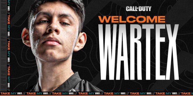 Wartex entra a far parte del Team Heretics