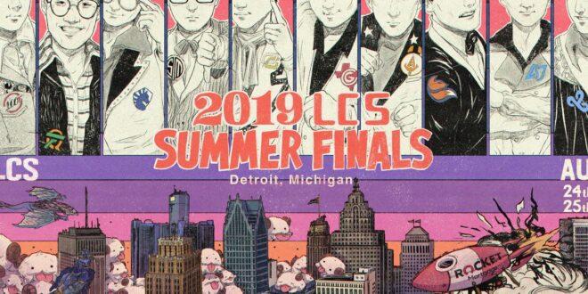 LCS Summer finals
