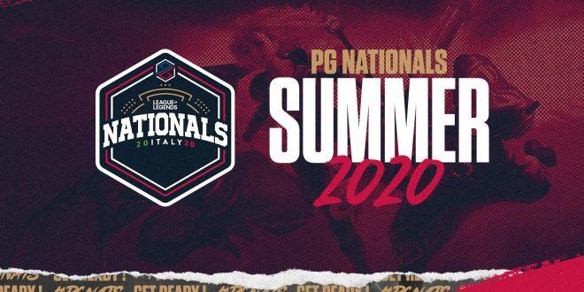 PG Nationals Summer 2020